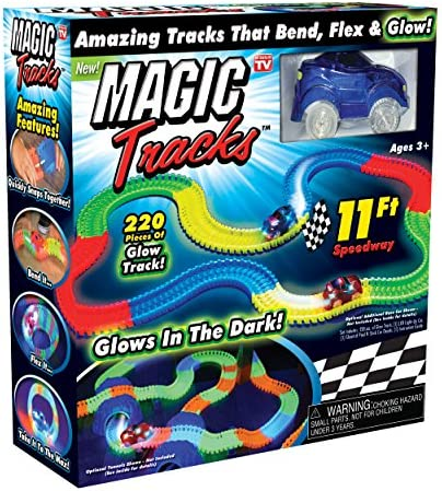 Magic Tracks     bonus glow in the dark stick and hot wheels car by Magic Tracks | L'apparence élégante  5bf9d6