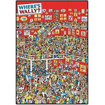 picture about Where's Waldo Pictures Printable called Woodmansterne Wheres Wally Blank/ Birthday Greeting Card