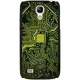 Carte mère Circuit Ordinateur Close Up Coque rigide pour téléphone portable, plastique, Yellow Memory Technology Board, Samsung Galaxy S4 Mini (i9190)