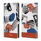 Officiel British Museum Mélange Abstrait Communauté Et Nourriture 2 Étui Coque De Livre En Cuir Pour Nokia 3