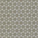 100% Baumwolle Stoff | Taupe und Cremeweiß | Geometrische