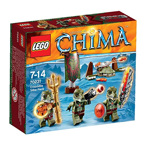LEGO Legends of Chima - Juguete Chima Pack de la Tribu del cocodrilo (70231)