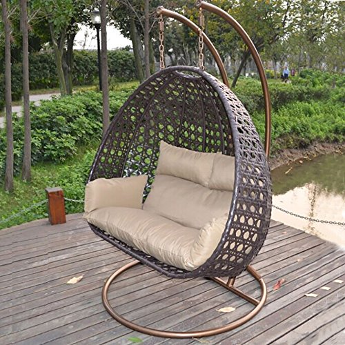 Home Deluxe Polyrattan Hängesessel