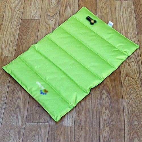 Sommer Pet Mat Hund Cool Pad Thermische Pad Widerstand Zu Beißen Wasserdicht Antihaft Haar Hund Pad (Farbe : Grün, größe : M) - Cool Thermische