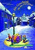 Ein Geschenk für das Christkind: Fensterbild-Adventskalender mit Begleitheft, ab 4 Jahre