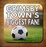 Grimsby Town's Biggest Fan Fußball Getränke Untersetzer–Geburtstag Geschenk/Strumpffüller