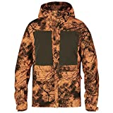 Fjällräven Herren Lappland Hybrid Jacket Camo Softshelljacke, Orange, 3XL