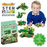Best Creativity for Kids Gift For 6 Yr Old Boys - Click-A-Brick Rainforest Rascals 30pc Educational Toys Building Block Review
