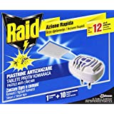 Raid Piastrine Zanzare Base- 10 pezzi
