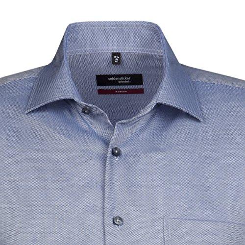 Seidensticker -  Camicia classiche  - Classico  - Maniche lunghe  - Uomo dunkelblau (0014)