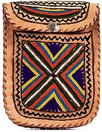 Creature CRTSL_062 Multicolor Color Genuine Leather Girls Sling Bag