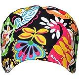 TENDYCOCO Regolabile cap di Lavoro Stampati Cotton Bouffant Hat Scrub Caps (Colore 2)