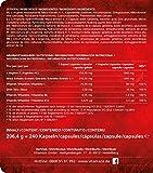 Maca Kapseln hochdosiert 4000 mg + L-Arginin 1800 mg + Vitamine + Zink, 240 Kapseln für 2 Monate, Qualitätsprodukt-Made-in-Germany jetzt zum Aktionspreis und 30 Tage kostenlose Rücknahme! 1er Pack (1 x 206,4 g) - 6