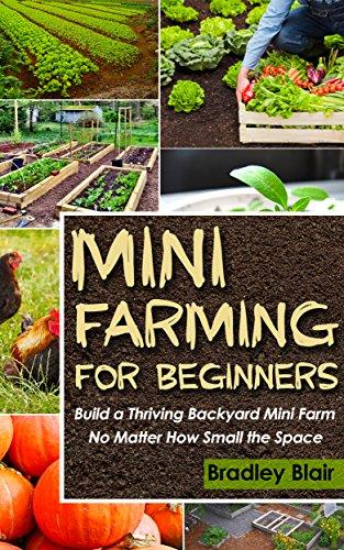 Mini Farming For Beginners: Build A Thriving Backyard Mini Farm, No Matter How Small The Space (Homesteading - Backyard Gardening - Handbook - Organic) book cover