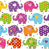 Ambiente Servietten Lunch / Party / Fest Ca. 33x33cm - Funny Elephants - Lustige Elefanten - Ideal Als Geschenk