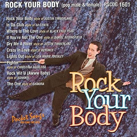 CD(G) Karaoké Rock Your Body (Livret Paroles Inclus)