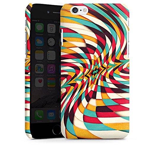 Apple iPhone X Silikon Hülle Case Schutzhülle Grafisch Muster Verzerrung Premium Case matt