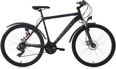 KS Cycling Hardtail ATB Calgary RH 56 cm Fahrrad, Schwarz, 26