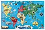 Melissa & Doug 10446 World Map Floor...