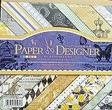 40pz Carta Scrapbooking Fogli per Scrapbooking DIY Carta Decorativa per Lavorazione Artigianale 7x7 pollici Carta per Fai Da Te Confezione di 40pezzi 17,5*17,5cm