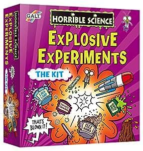 Horrible Science – Kit Expériences Explosives – Version Anglaise (Import Royaume-Uni)