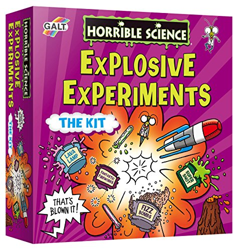 LIVING & LEARNING HORRIBLE SCIENCE   JUEGO DE EXPERIMENTOS EXPLOSIVOS