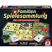 Schmidt-Spiele-49190-Familien-Spielesammlung Schmidt Spiele 49190 Familien Spielesammlung -