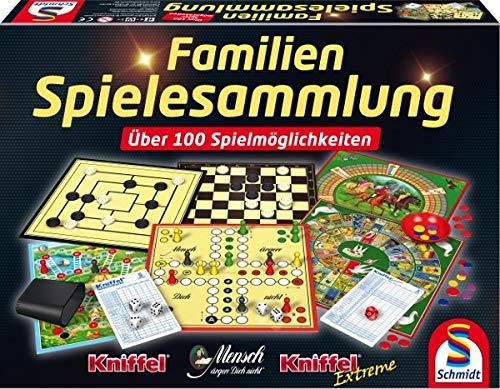 Schmidt Spiele 49190 Familien Spielesammlung