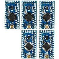 5piezas Pro Mini mejora ATmega328P 16MHz 5V compatible Arduino Pro memoria TE362