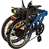 REMINGTON Faltrad Urban Folder 20 Zoll  E-bike Klapprad Pedelec StVZO, Farbe:blau - 7