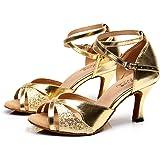 Scarpe da Ballo Latine, Donna, Scarpe Donna Eleganti Zapatos Baile Latinos Mujer Scarpe Tango