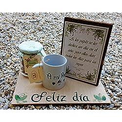 Regalo Día del Padre Original - Hecho a mano con dedicatoria personal, un regalo muy personal