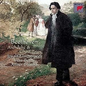 """BEETHOVEN : Trios pour piano, violon et violoncelle en mi bémol majeur op. 97 """"L'Archiduc"""" & en ré majeur op. 70 """"Des Esprits"""""""
