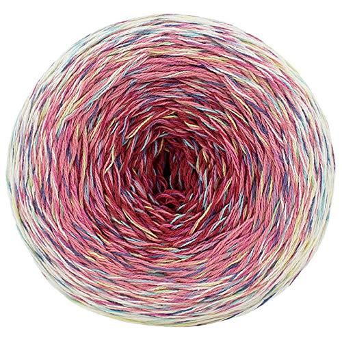 Mondial Primavera Multicolor, Farbverlaufsgarn Bobbel 4fach, gezwirnt, 150g ca. 600m (658)