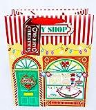Spielzeug Shop Weihnachten großer Geschenk Tasche Geschenk Streifen Tag Traditionelle Kinder Luxus