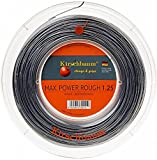 Kirschbaum Saitenrolle Max Power Rough, Anthrazit, 200 m, 0105260218400010