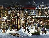 Weihnachten in der Stadt Adventskalender