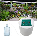 Geggur Diy Automatic Drip Irrigation Kit,Automatic Watering Kit Self Watering System With 15-Day Electronic Water Timer...