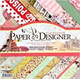 #1: Pattern Design Printed Papers for Art n Craft, Size: 8x 8 Inch, Set of 40