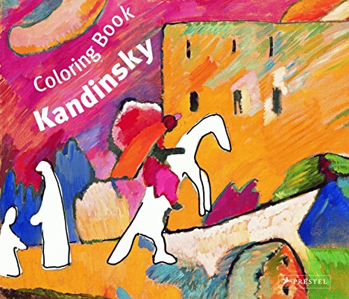 Coloring Book Kandinsky (Prestel Colouring Books S.)