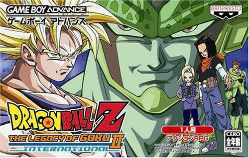 Game Boy Advance Dragon Ball Z - The Legacy of Goku II International - Japane... (japan import) (Of Goku Ball Z-legacy Dragon)