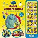 27-Button-Soundbuch - Disney Klassiker: Unser Liederschatz - Die 27 schönsten Kinderlieder - Hardcover-Buch mit Noten - Liederbuch