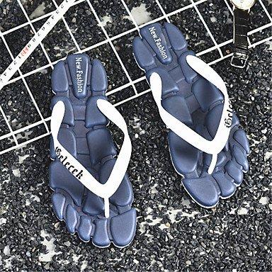 Slippers & amp da uomo;Coppia scarpe primavera estate Comfort Light Soles Outdoor Casual piatto Heel sandali US9 / EU40 / UK7 / CN41