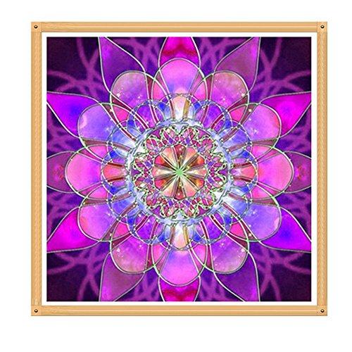 Precioul DIY 5D Diamant Malerei Kits Full Bohrer Rund Kristall Strass Stickerei Bilder Arts Craft für Home Wand Decor Geschenk Indischen Muster (Red Flats Mädchen Ballet)