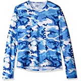 Hot Chillys Youth Pepper Skins Crewneck, Mist, Medium