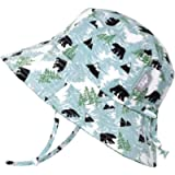 JAN & JUL Baby Toddler Kids Breathable Cotton Bucket Sun-Hat 50 UPF for Girls, Adjustable, Stay-on, UV Protection