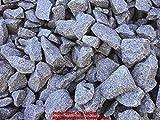ca. 1 Tonne Granit Bruchstein, grau, 60-120 mm im Big Bag