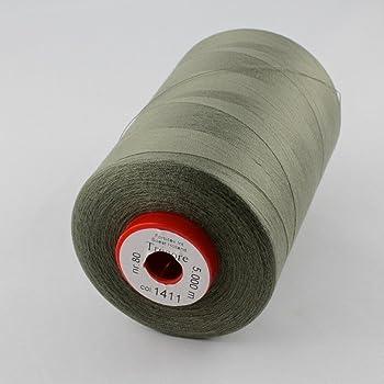 Nähgarn Allesnäher Amann Stärke 100 Schwarz 5000m 100/%Polyester Nähmaschinengarn