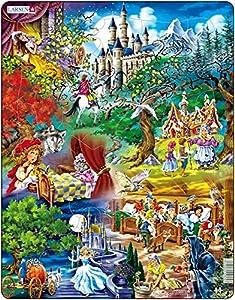 Larsen Maxi LA-US24 Puzzle - Rompecabezas (Rompecabezas de Figuras, Dibujos, Niños, Niño/niña, 3 año(s), Interior)