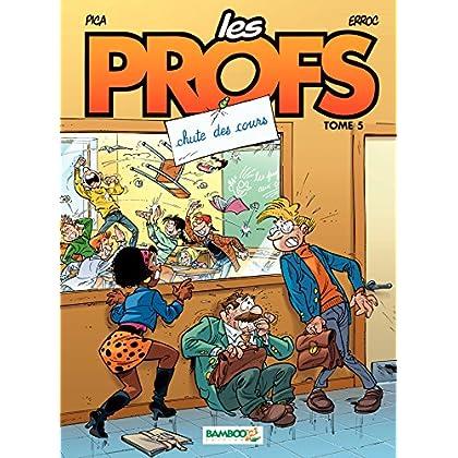 Les Profs: Chute des cours